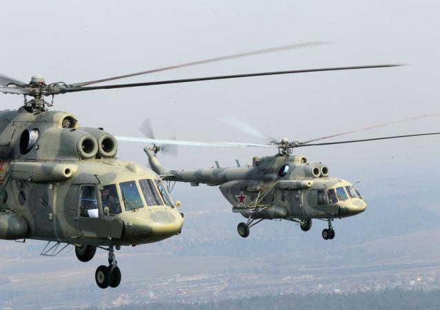 米-17直升机