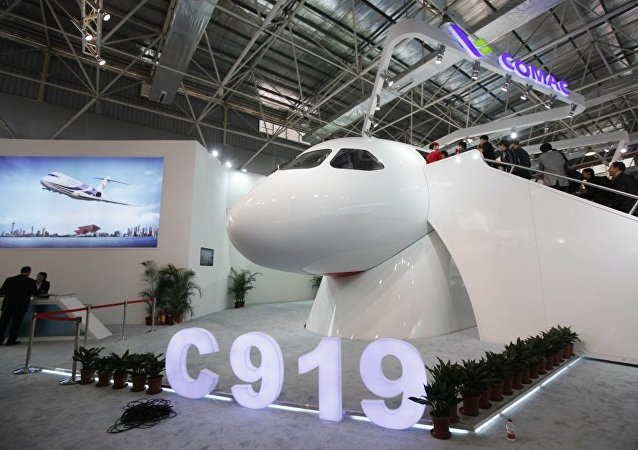 C919中型客机