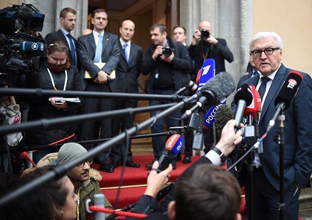 """德国外长:""""诺曼底模式""""四国外长聚集在柏林以便就乌克兰问题""""对表"""""""
