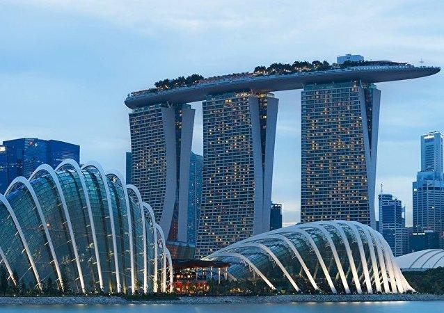 """新加坡外长:新加坡将为""""一带一路""""倡议提供金融支持"""