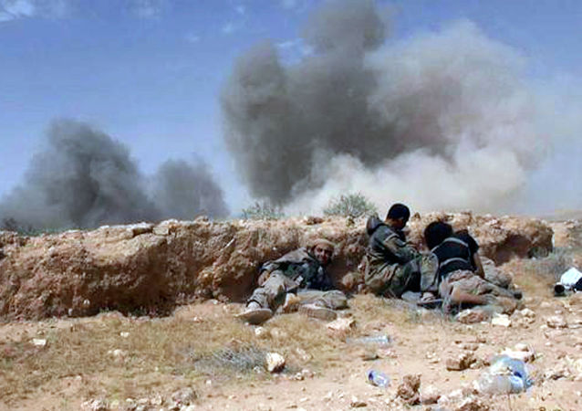 媒体:叙空军在阿勒颇南部炸溃恐怖分子部队