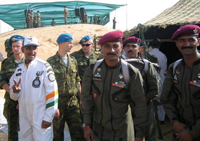 第七次俄印陆军联合演习开启