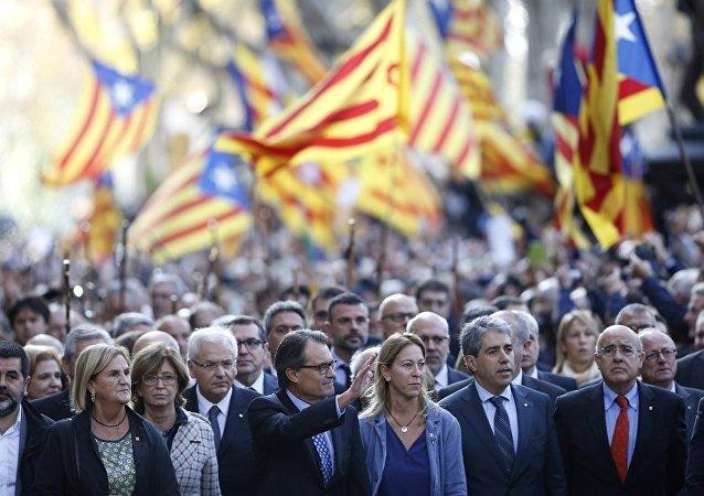 90%的投票支出加泰罗尼亚独立