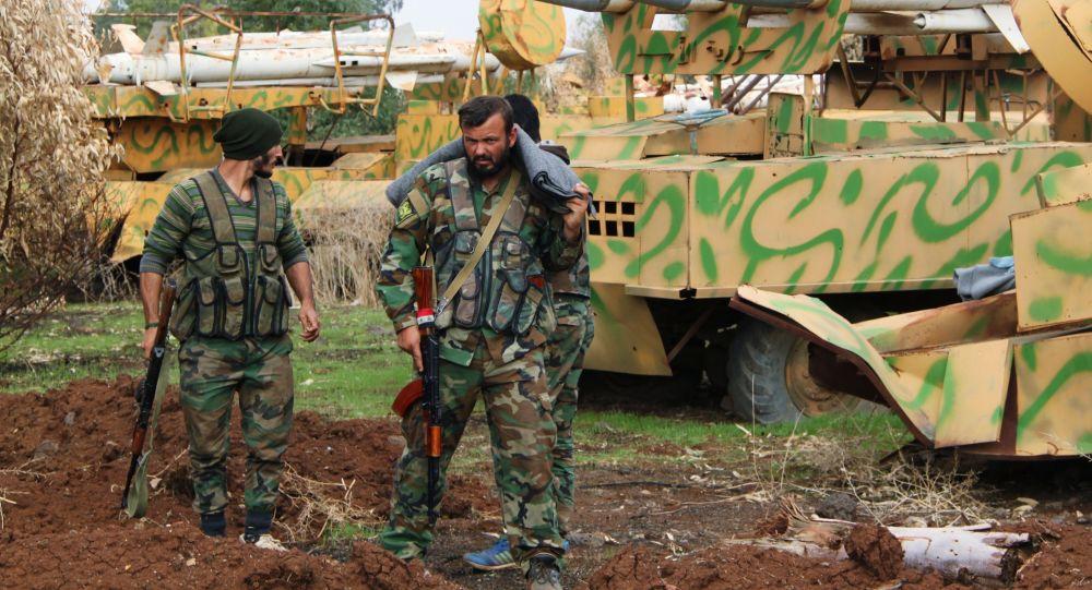 叙利亚军人,德拉市