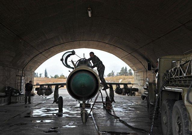 叙利亚政府军