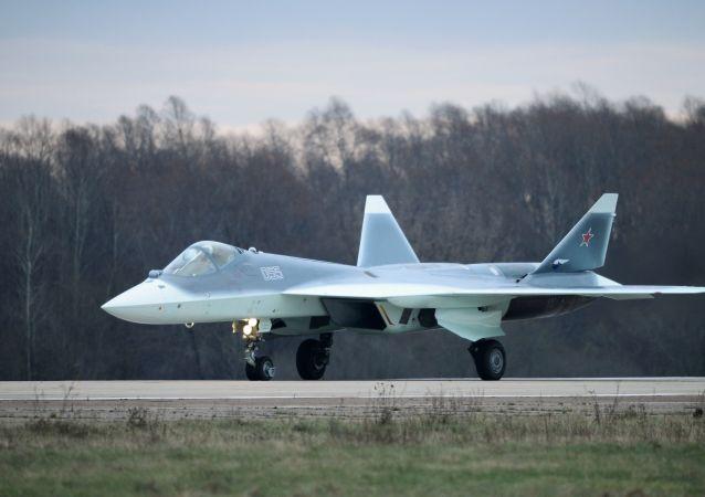 消息人士:2018年俄罗斯将开始批量生产配备新型发动机的T50第五代战斗机
