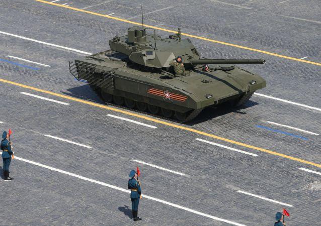 「阿瑪塔」 T-14主戰坦克