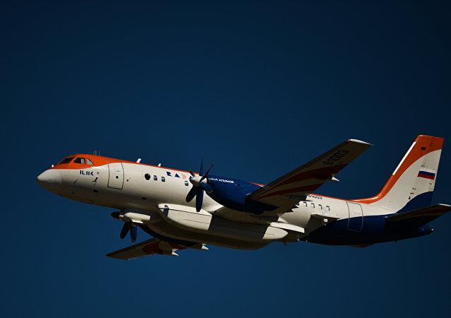 伊尔-114飞机