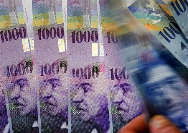 中国启动人民币兑瑞士法郎直接交易