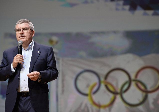 巴赫:俄罗斯国家队参加奥运会必须通过三级筛选
