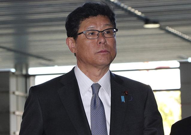日本复兴大臣高木毅