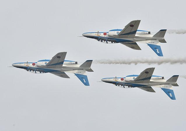 日本扩充拦截外国飞机的战斗机