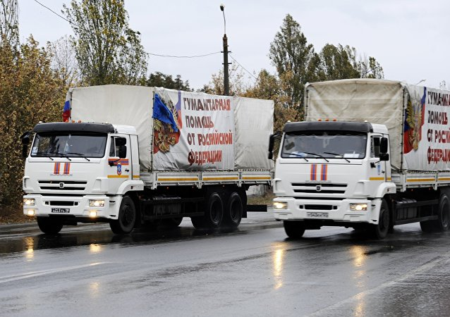 俄紧急情况部:俄将一直向顿巴斯提供人道主义援助直至基辅取消封锁