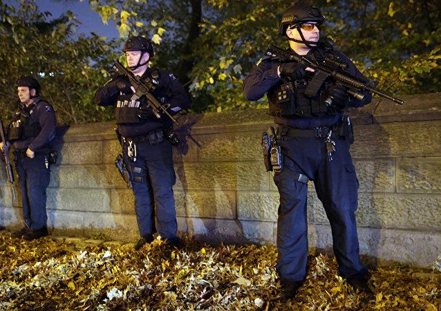 媒体:在巴黎附近杀害警察并劫持其家人的凶犯宣誓效忠IS