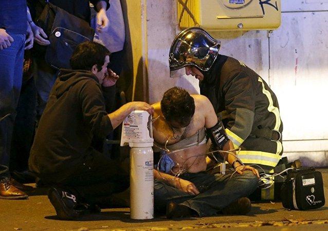 中国外交部:中方强烈谴责法国巴黎系列恐怖袭击事件