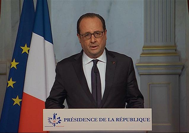 奥朗德:布鲁塞尔的反恐行动与巴黎恐袭有关