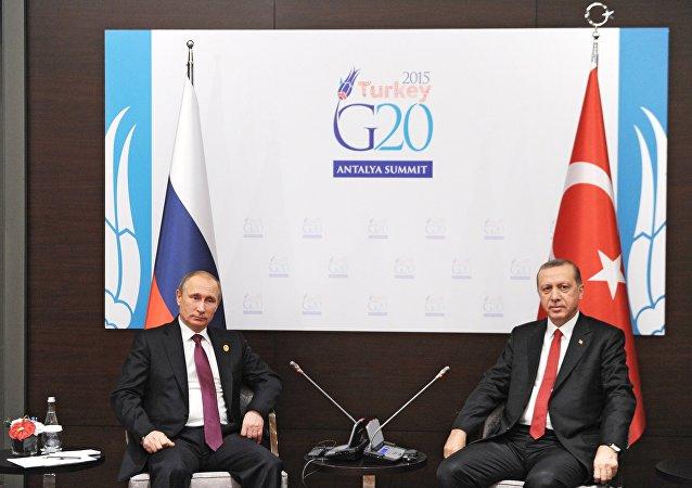 俄罗斯和土耳其高层
