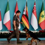 媒体:护卫汉堡G20峰会外国代表团的工作人员将可持有武器
