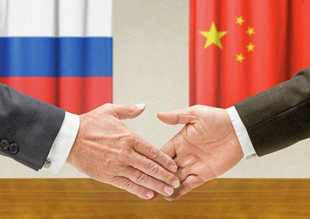 俄中军事检察人员在莫斯科会晤