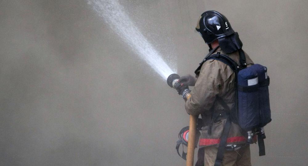 俄紧急情况部:莫斯科郊区一商场的火灾面积达3000平米