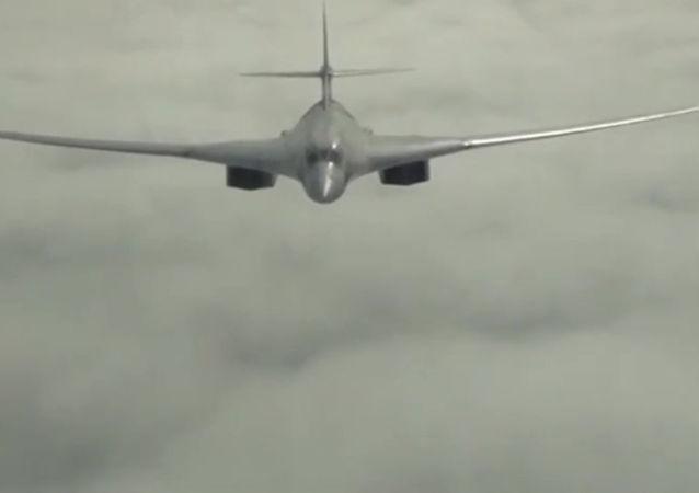俄战略轰炸机参与叙利亚境内的空袭行动