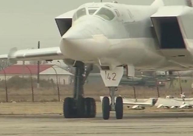 俄战略轰炸机参与叙利亚境内的空袭行动   /资料图片/