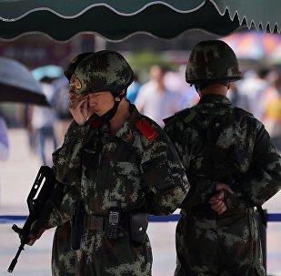 中國官員被要求加強反恐意識
