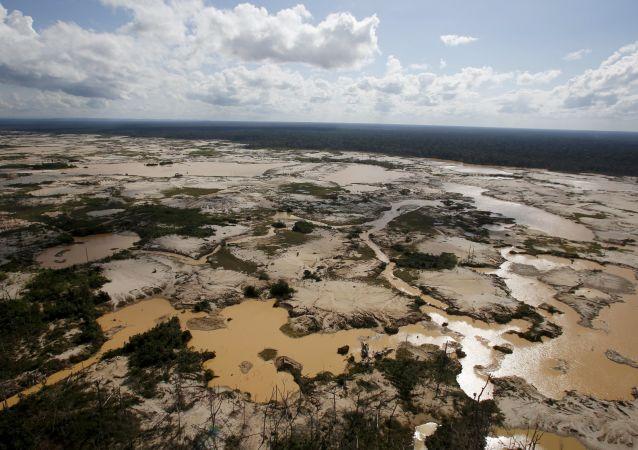 亚马孙流域地区的森林砍伐