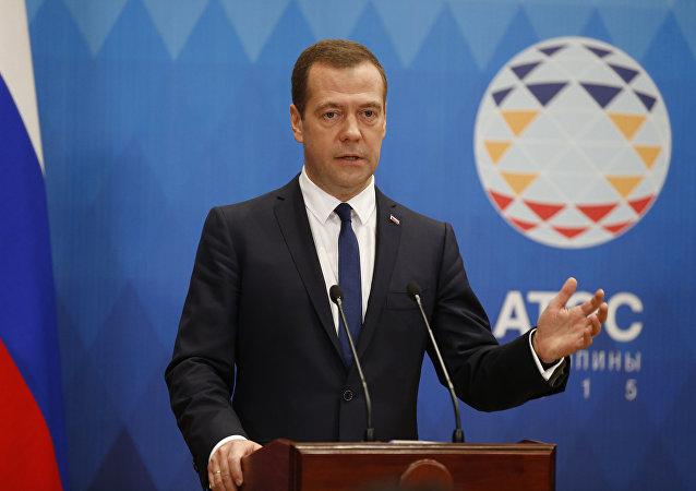 """俄总理:地区性贸易协议不应""""破坏""""世贸规则"""