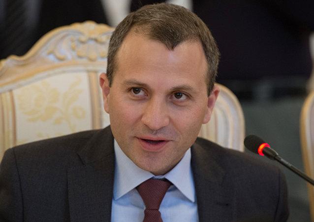 黎巴嫩外長巴西勒