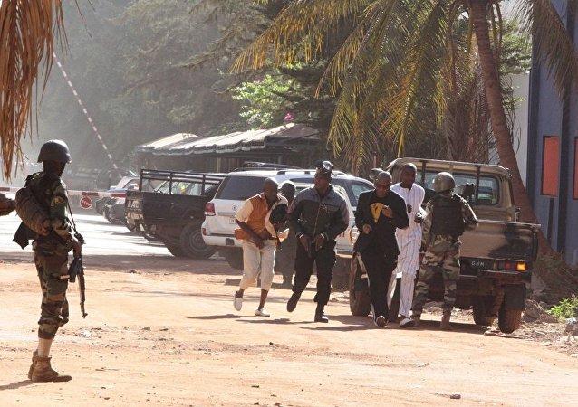 媒体:至少20名人质在马里遭袭酒店强攻行动中获救