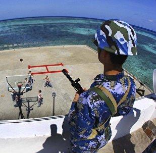 媒体:中国海警将在南海进行军事训练