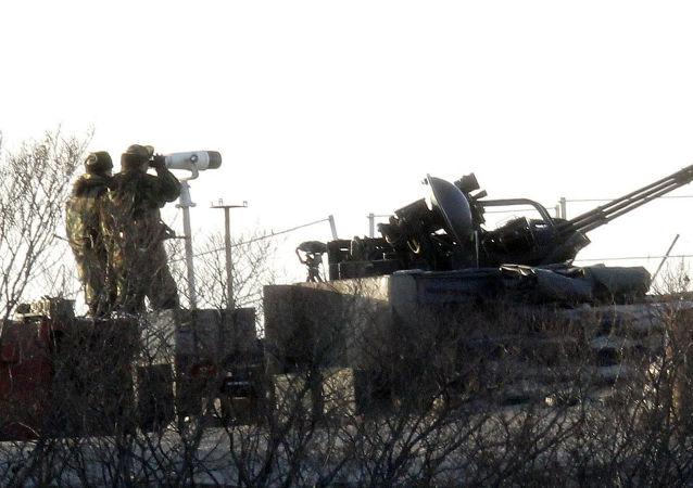 媒体:韩国海军陆战队接到黄海进入战备状态的命令