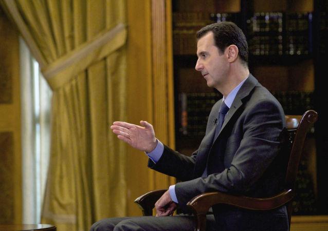 阿萨德:土耳其卡塔尔和沙特阿拉伯资助IS