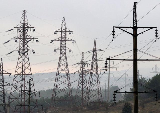 俄能源部長:克里米亞第三條供電橋線路投入使用 電力不再短缺