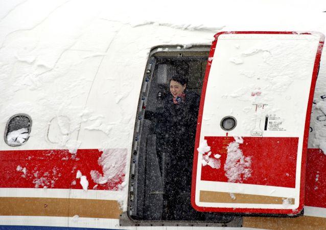 大雪导致北京首都机场取消40余个航班