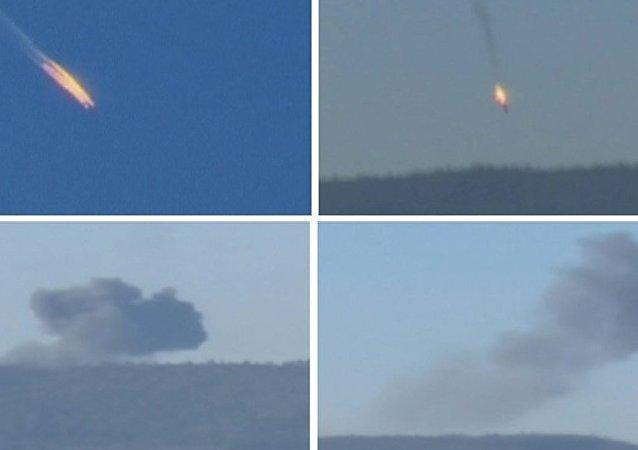 埃尔多安:两名击落俄罗斯苏-24飞机的飞行员或与葛兰有关