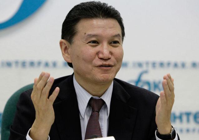 国际棋联主席讲述他与外星人的对话