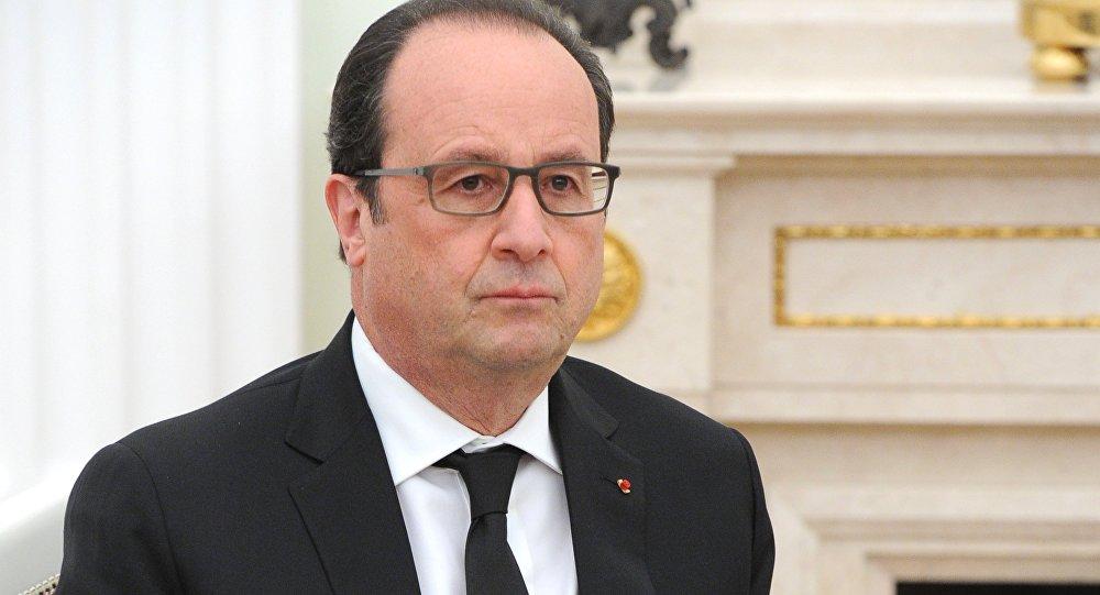 法国前总统奥朗德