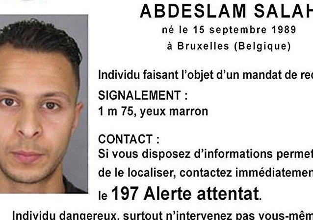 巴黎恐怖袭击案嫌疑人律师:阿卜德斯拉姆同意引渡至法国
