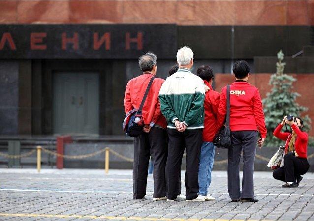 中国人在红场