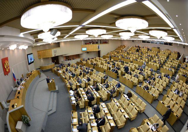 """俄杜马等待普京在总统致国会咨文中解答""""战争与和平""""问题"""