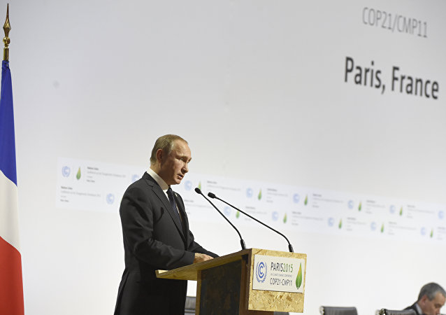 普京:俄方的努力令全球气候变暖的脚步拖后一年