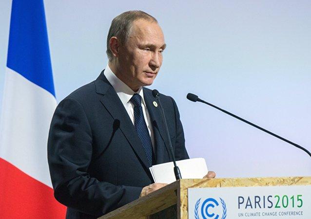 普京:俄方提议在联合国主持下召开资源消耗论坛