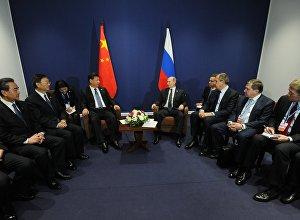 俄中兩國領導人認為雙方定期會晤很有益