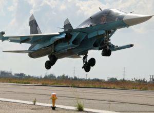 俄軍蘇-34開始搭載空對空導彈在敘執行任務