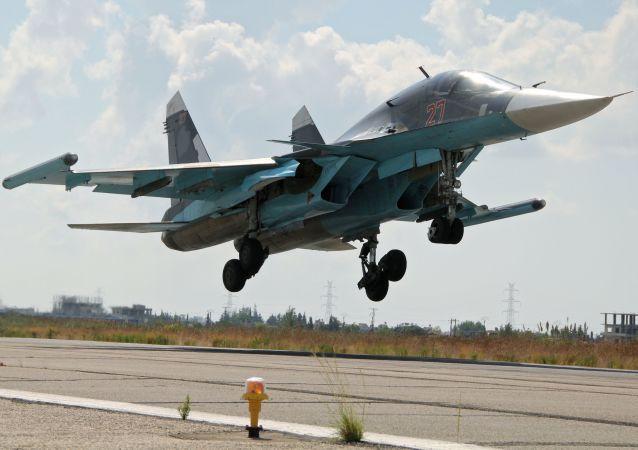 俄军苏-34