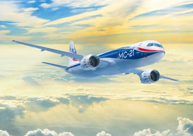 媒体:俄将于2016年春公开展出MS-21客机