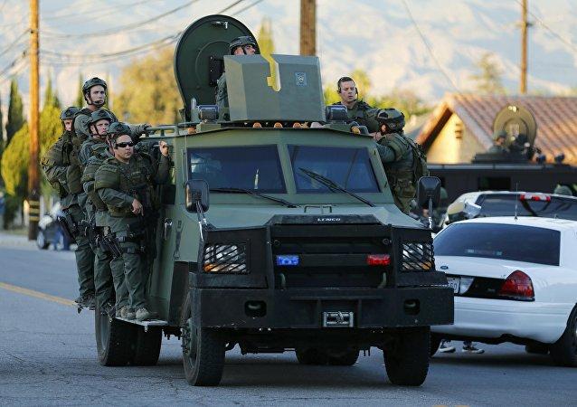 美国加利福尼亚州警察(资料图片)