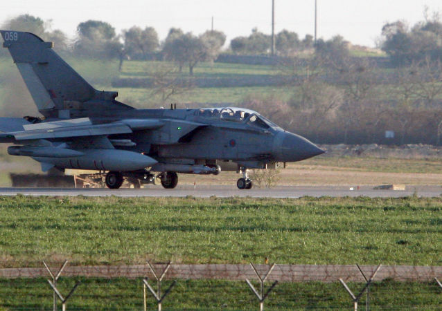 英国空军的'狂风'(Tornado)战机
